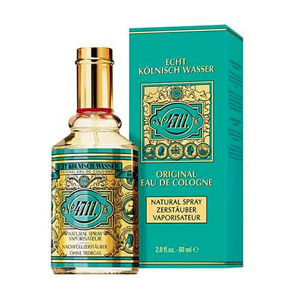 4711 Original Eau De Cologne 60ml Natural Spray Perfume Fragrance Muelhens