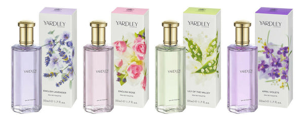 Yardley London - Eau De Toilette 50ml LILY OF THE VALLEY Perfume Fragrance EDT