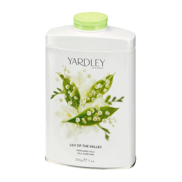 Yardley London - Perfumed Talc 200g LILY OF THE VALLEY Talcum Powder Scented