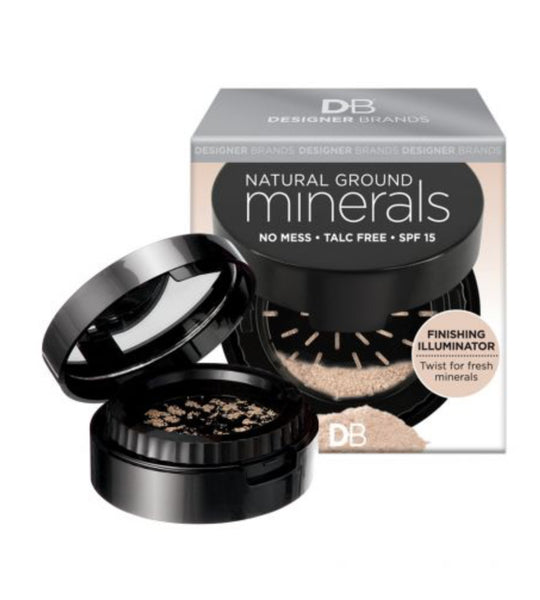 Designer Brands - Natural Ground Minerals Finishing Illuminator Setting Powder