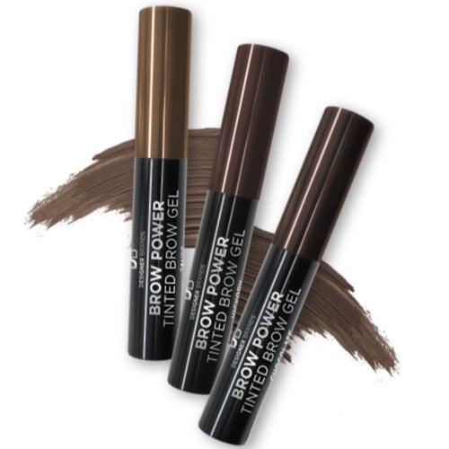 Designer Brands - Brow Power Tinted Brow Gel - Brunette Taupe Blonde Colour
