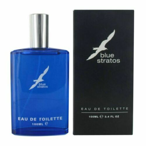 Blue Stratos - Eau De Toilette EDT 100ml Men Cologne Fragrance Spray Perfume