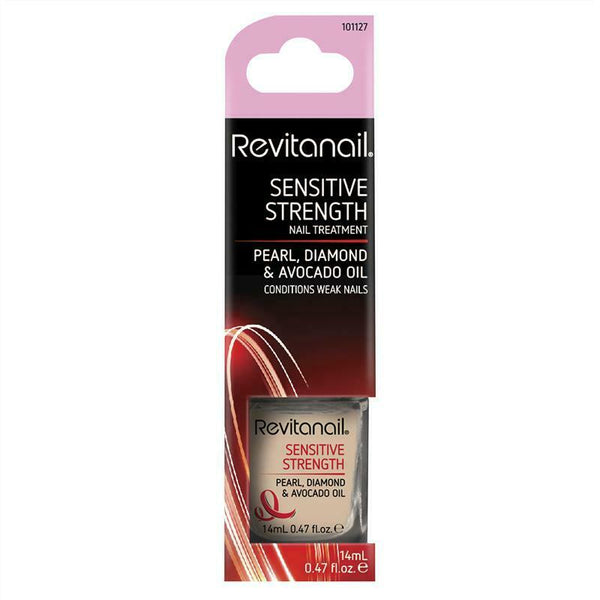 Revitanail - Sensitive Strength Nail Treatment Pearl Diamond & Avocado Oil 14ml