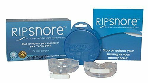 RipSnore - Anti Snoring Device Remove Snore While Sleeping - Mouthguard Device