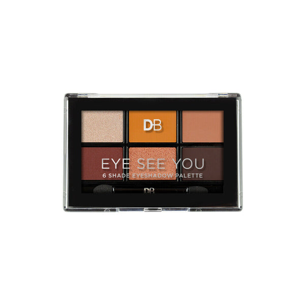 Designer Brands - Eye See You 6 Shade Eye Shadow Palette FIRED UP Eyeshadow