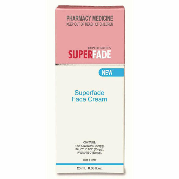Plunketts - Super Fade Cream 20ml Fade Brown Spots & Skin Hyperpigmentation