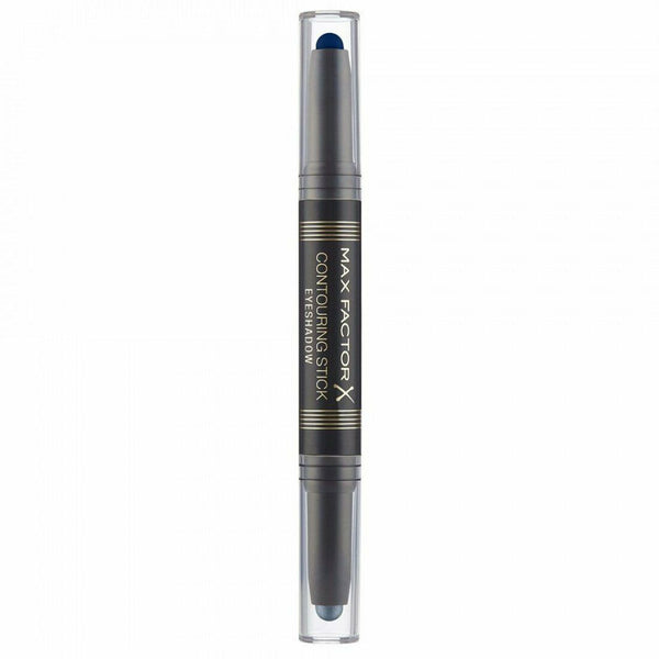 Max Factor - Contouring Stick Eyeshadow Silver Storm & Midnight Blue Eye Shadow