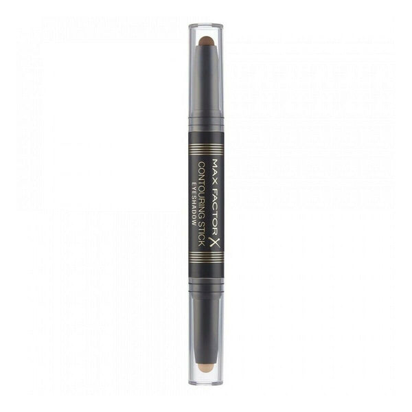 Max Factor - Contouring Stick Eyeshadow Warm Taupe & Amber Brown Eye Shadow