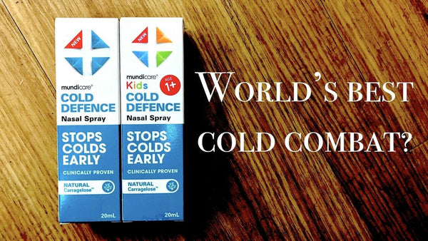 Mundicare - Kids Cold Defence Nasal Spray Stops Colds Early AGE 1+ 20ml