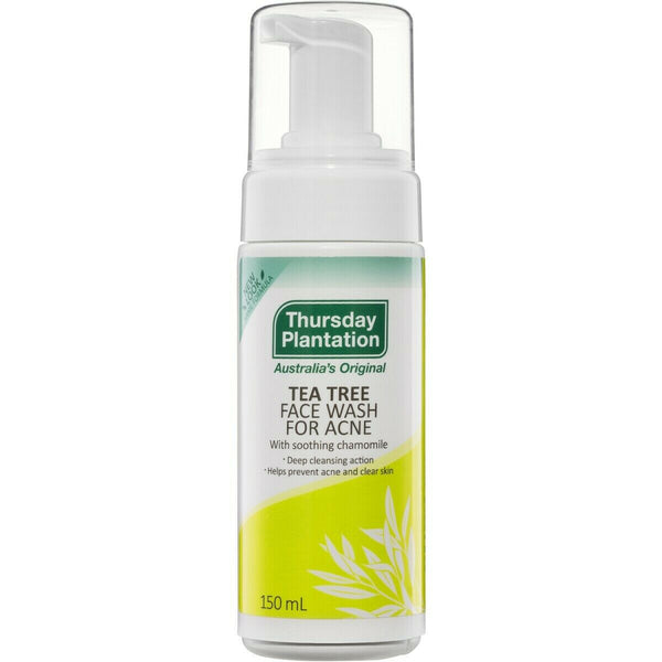 Thursday Plantation - Tea Tree Face Wash For Acne With Soothing Chamomile 150ml