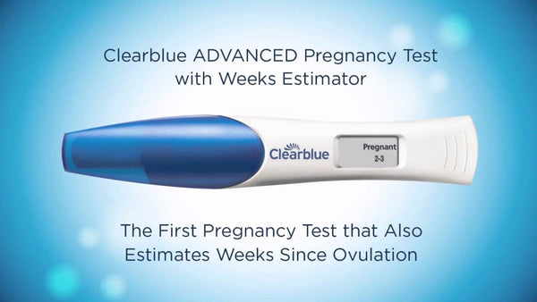 Clearblue - Digital Pregnancy Test 6 PACK Conception Indicator Early Detection