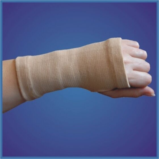 Body Assist Slip On Elastic Wrist and Hand Support Bandage Injury Sprain Strains