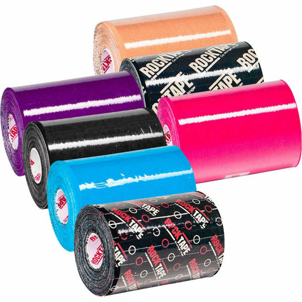 Rock Tape - Rocktape Super Wide Sports Tape 5m x 10cm Big Daddy Various Colours