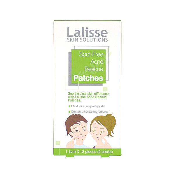 Lalisse - Spot Free Acne Rescue Patches - 24 patch for pimples and blemishes