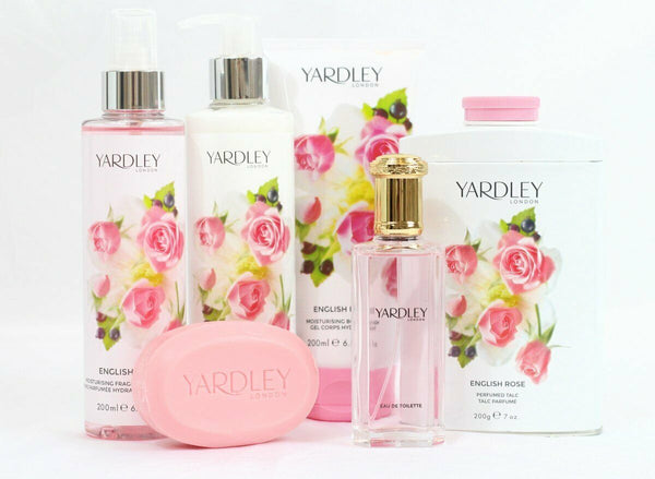 Yardley London - Perfumed Soap Bar 3 PACK 100g ENGLISH ROSE Hand Body Guest Pack