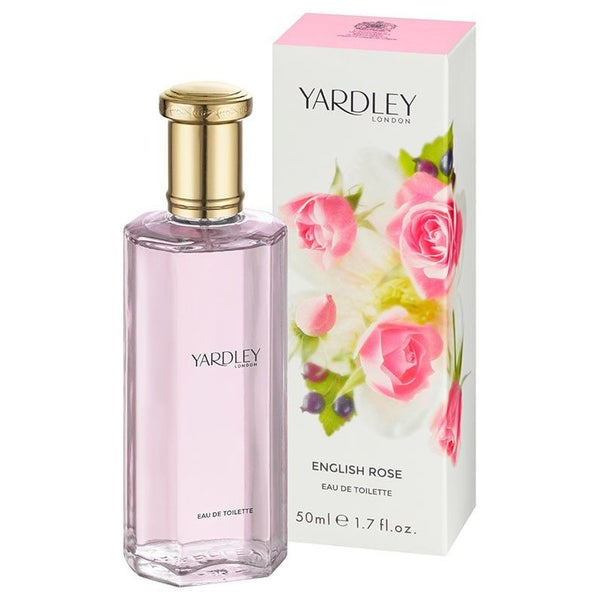 Yardley London - Eau De Toilette 50ml ENGLISH ROSE Perfume Womens Fragrance EDT