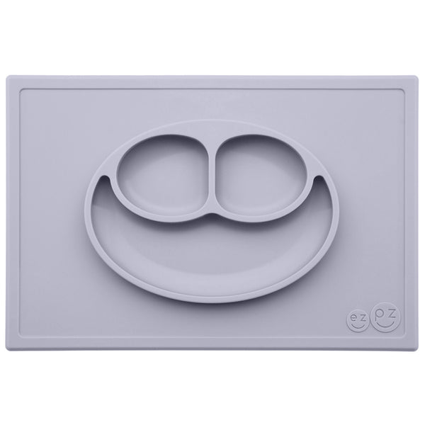 EZPZ The Happy Mat - Placemat & Plate in One + Suction Choose Colour Silicone