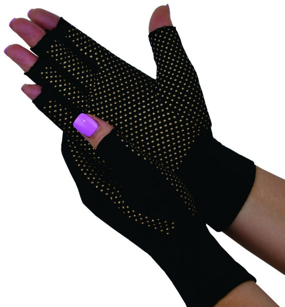 Dick Wicks - Magno Gloves Magnetic Therapy with Compression PICK SIZE Arthritis