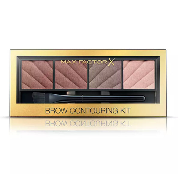 Max Factor - Brow Contouring Kit - Eyebrow Powder Brown Blonde Colour 4 Shades