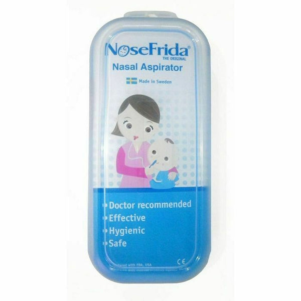 NoseFrida - Nasal Aspirator Effective & Hygienic Relieve Nose Baby Snot