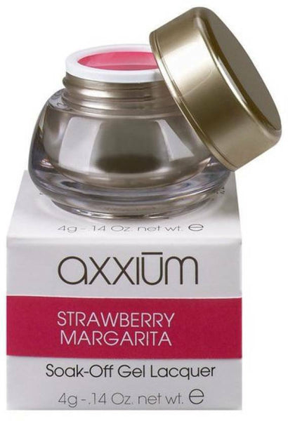 Axxium By OPI - Soak Off Gel Lacquer STRAWBERRY MARGARITA 6g Nail SEALED