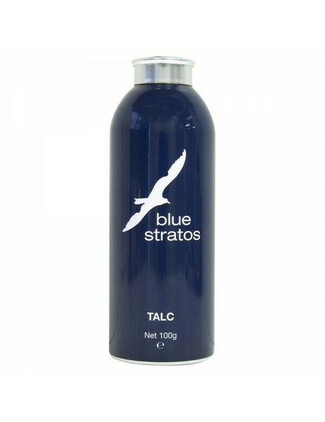 Blue Stratos - Talc Powder 100g Fragranced Talcum For Men