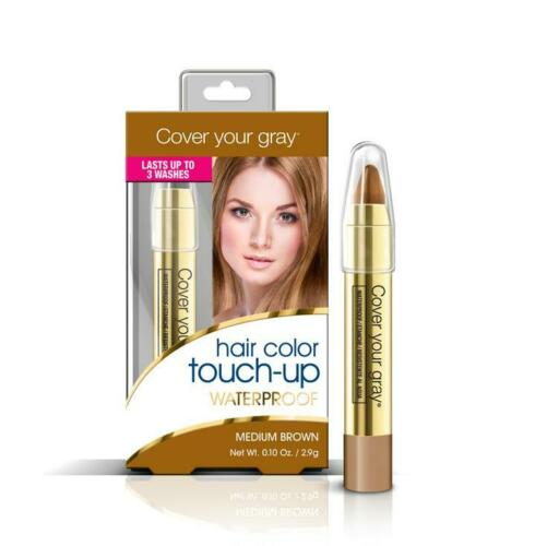Cover Your Gray - Hair Color Touch-up Waterproof MEDIUM BROWN Cover Grey Roots