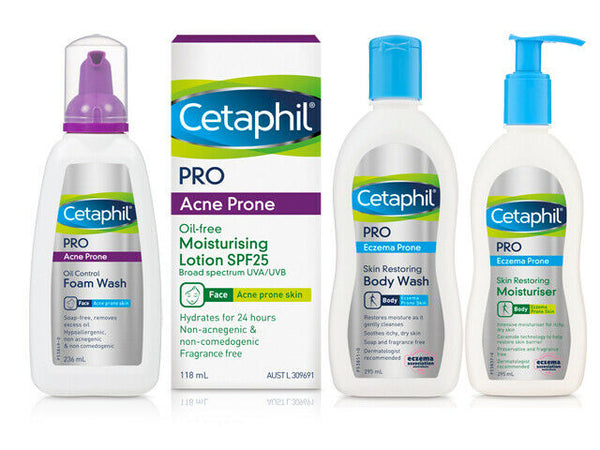 Cetaphil - Pro Acne Prone Oil Control Foam Wash For The Face 236ml
