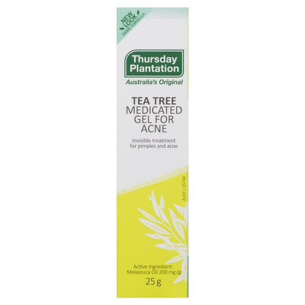 Thursday Plantation - Tea Tree Medicated Gel For Acne Invisible Treatment 25g