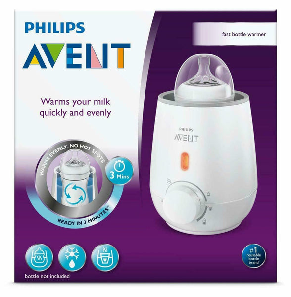 Avent - Electric Baby Bottle Warmer, Warms Milk Quick Evenly Ready In 3 Minutes