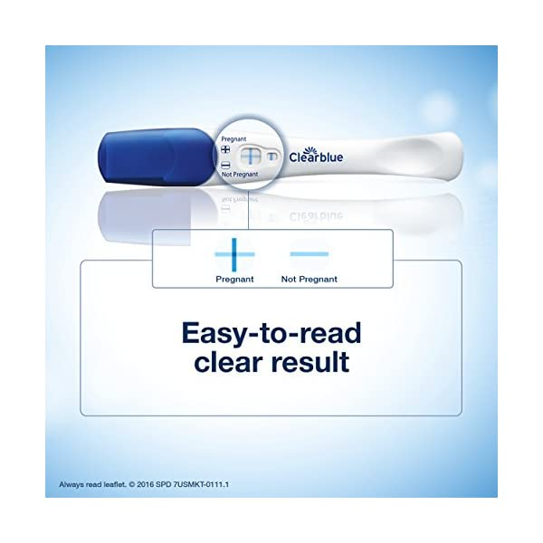 Clearblue - Rapid Detection Pregnancy Test 1 PACK In-Stream Early Detect