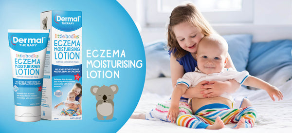 Dermal Therapy - Little Bodies Eczema Relief Cream Relieves Kids Dry Skin 56g