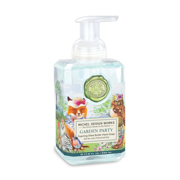 Michel Design Works - Foaming Shea Butter Hand Soap GARDEN PARTY 530ml