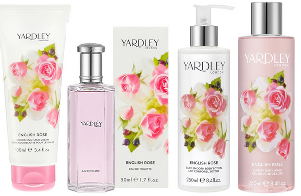 Yardley London - Nourishing Hand Cream 100ml ENGLISH ROSE Perfumed Dry Hands