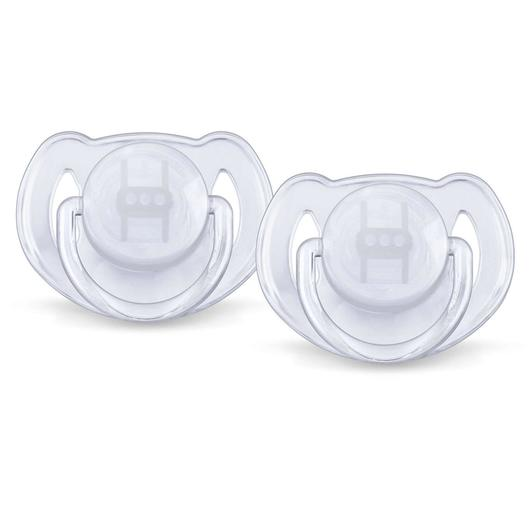 Avent - Classic Soothers 0-6 Month Translucent Dummies CHOOSE COLOUR Pacifier