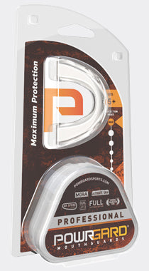Powrgard - Professional Mouth Guard Maximum Protection CLEAR Mouthguard