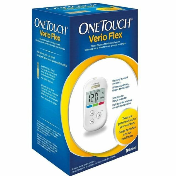 OneTouch - Verio Flex Blood Glucose Monitoring System With Bluetooth Diabetes
