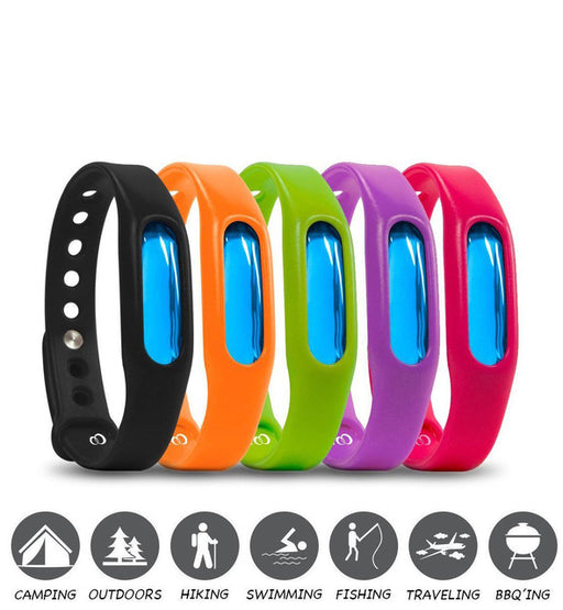 5 Pack Mosquito Repellent Bracelet