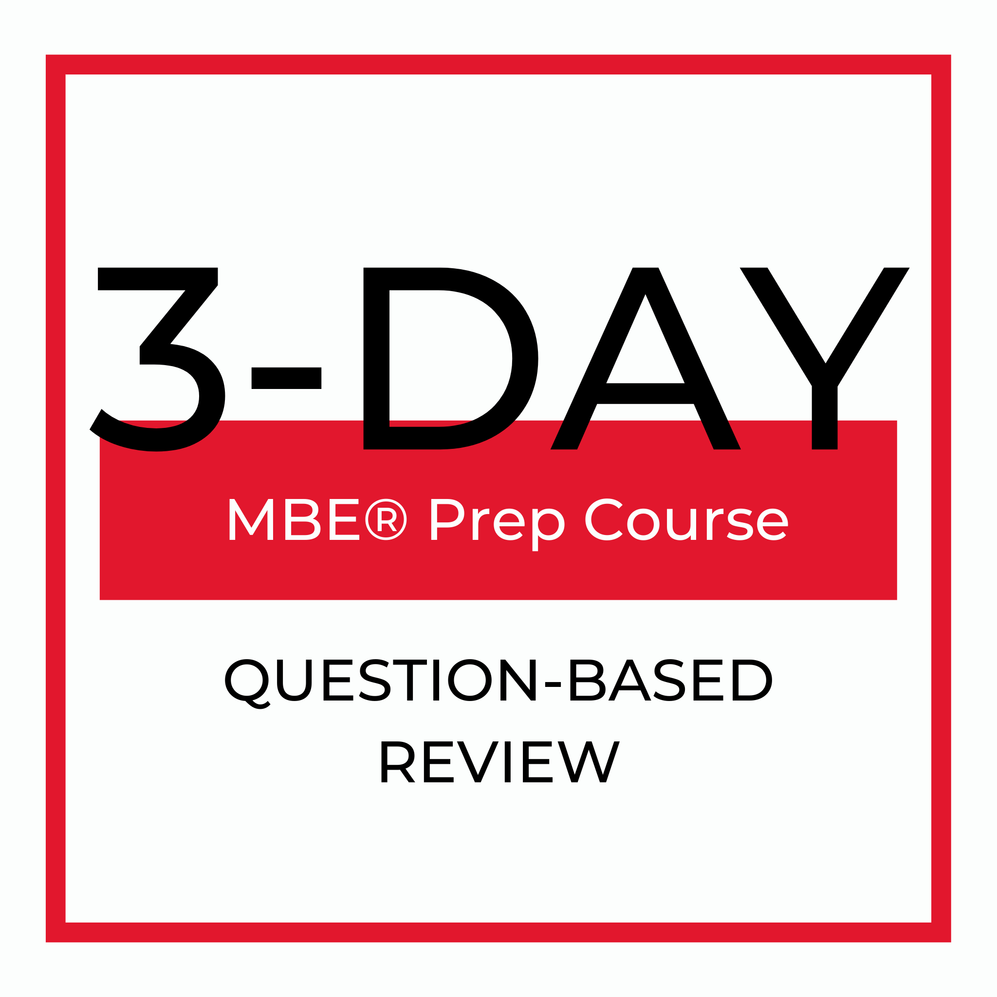 3 Day Review Course