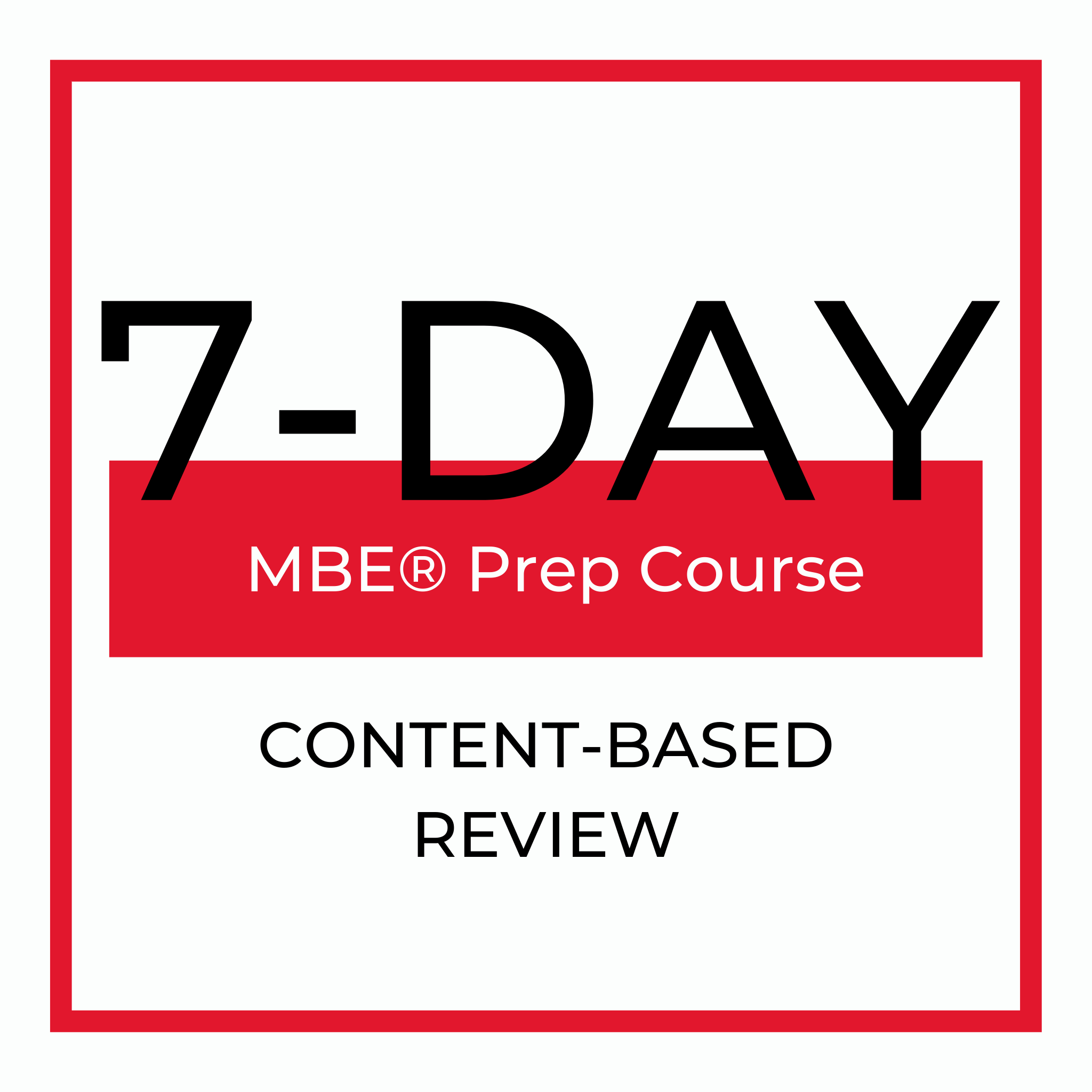 7 Day Review Course