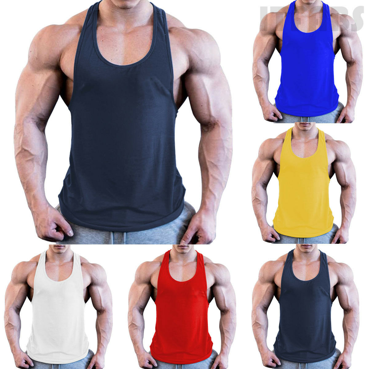 Men Gym Muscle Tank Top