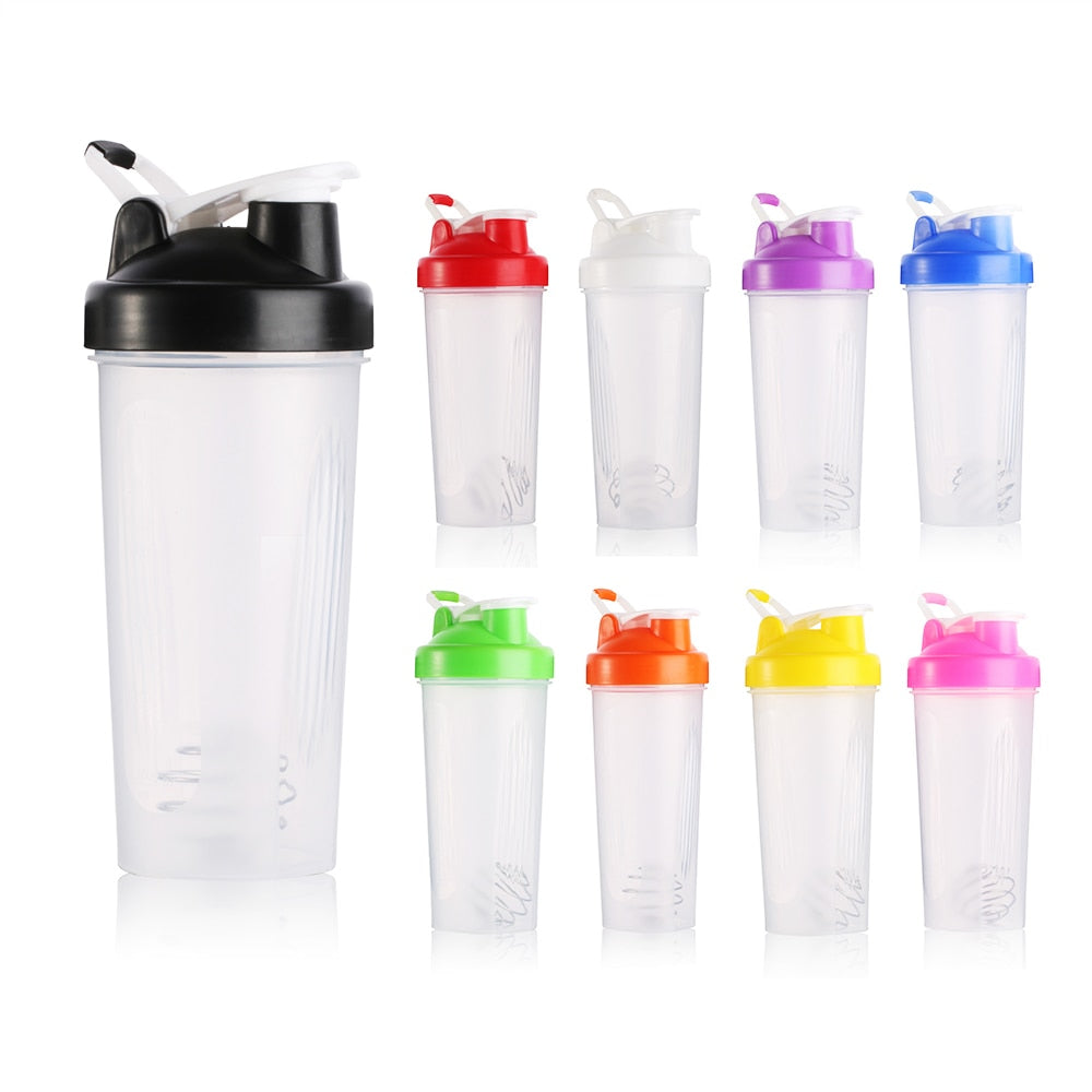 Protable Shaker Bottle With Stirring Ball