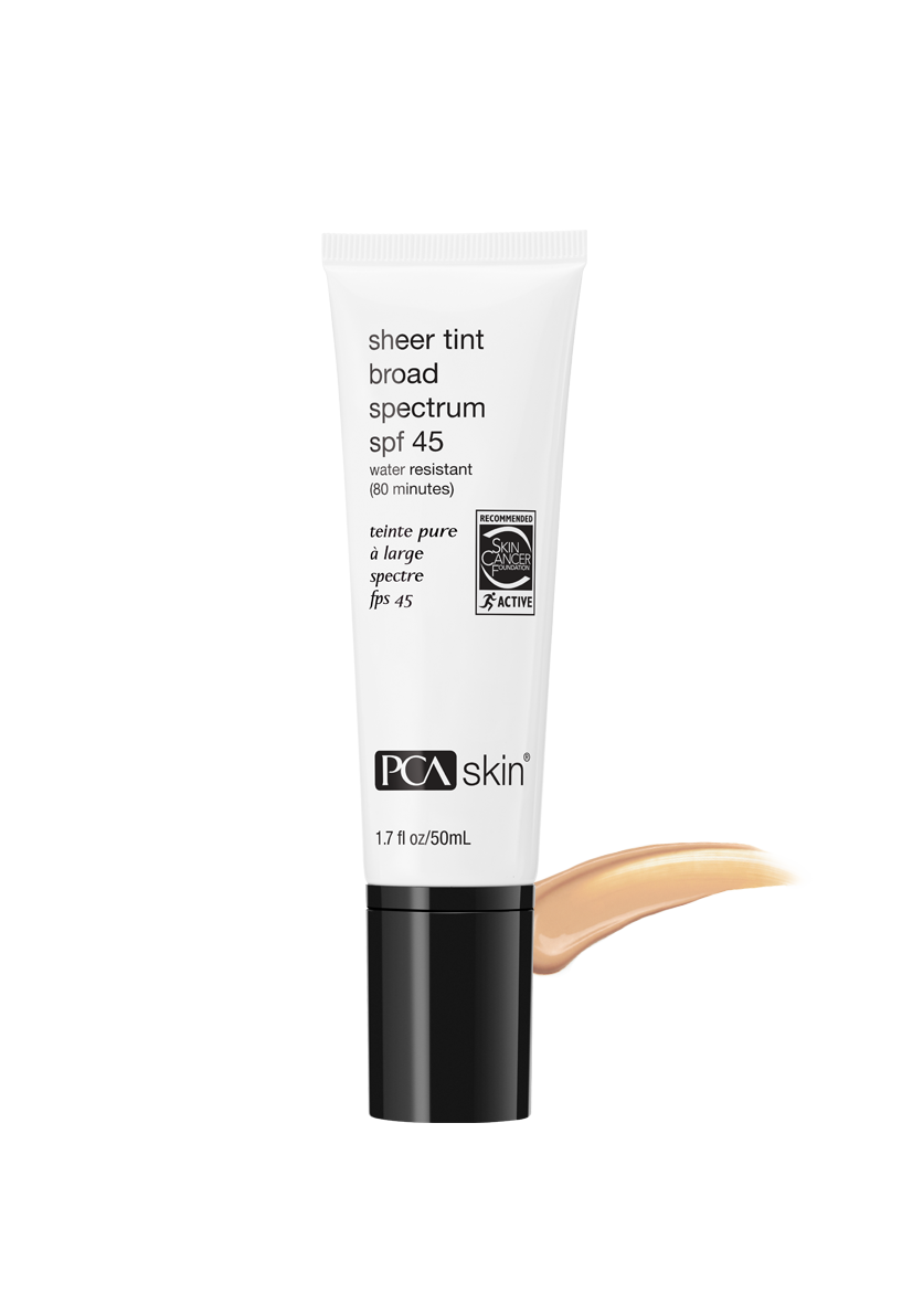 PCA Skin- Sheer Tint Broad Spectrum SPF 45