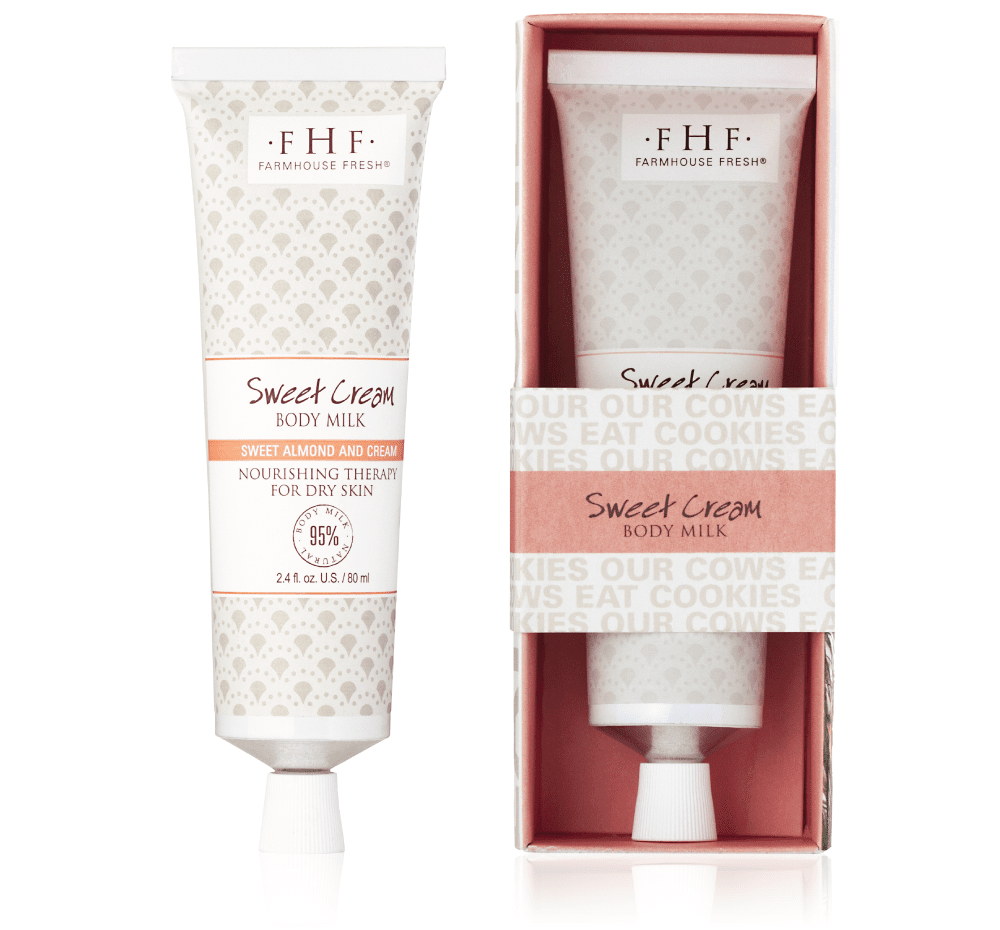 Farmhouse Fresh- Sweet Cream Body Milk Travel Lotion