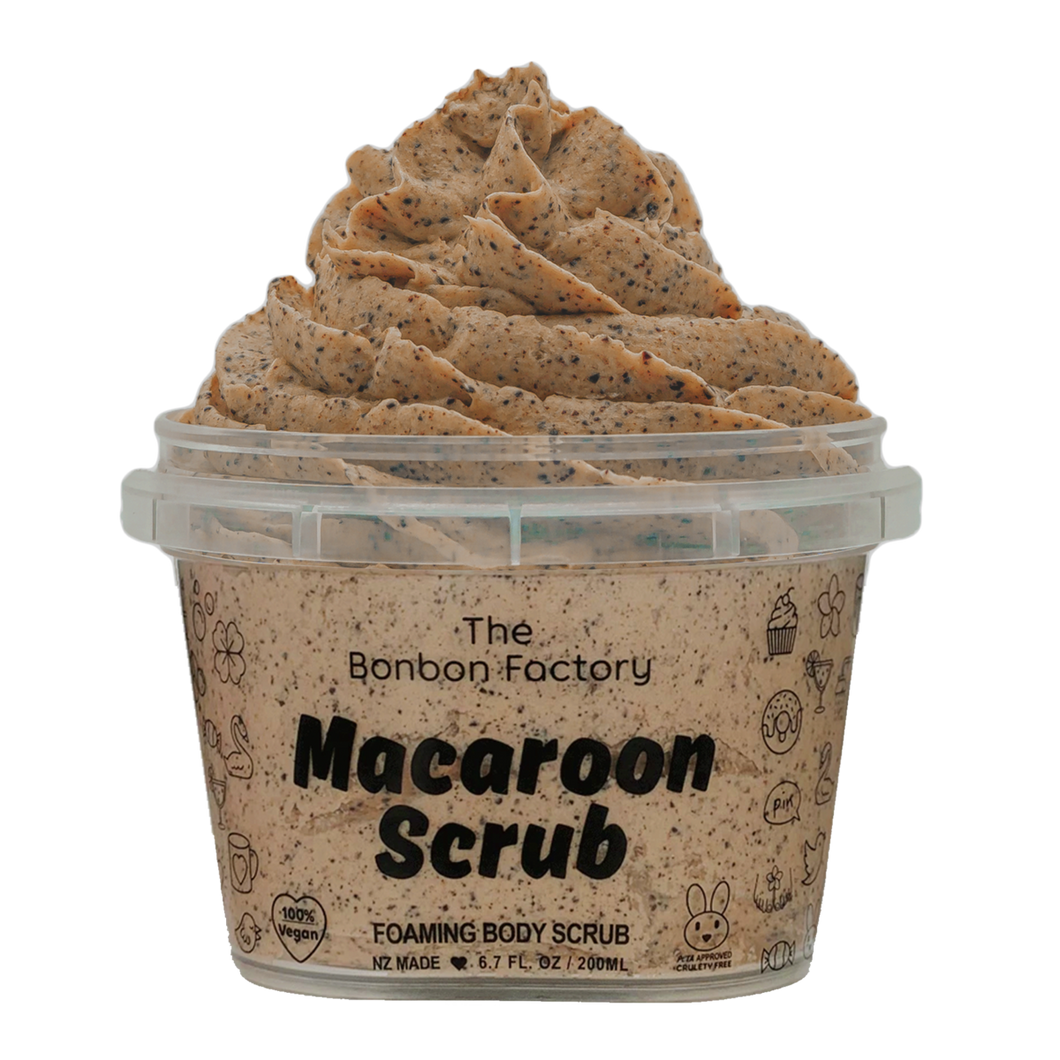 COFFEE | MACAROON SCRUB - Beautiful Creatures Makeup & Beauty