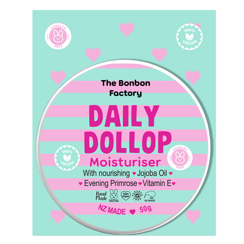 Daily Dollop Facial Moisturiser 50g - Beautiful Creatures Makeup & Beauty
