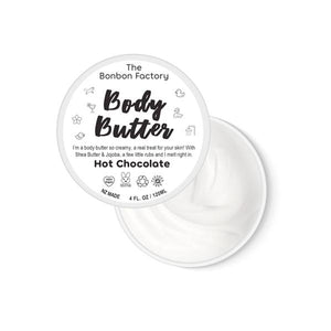 Hot Chocolate Body Butter 120ml - Beautiful Creatures Makeup & Beauty