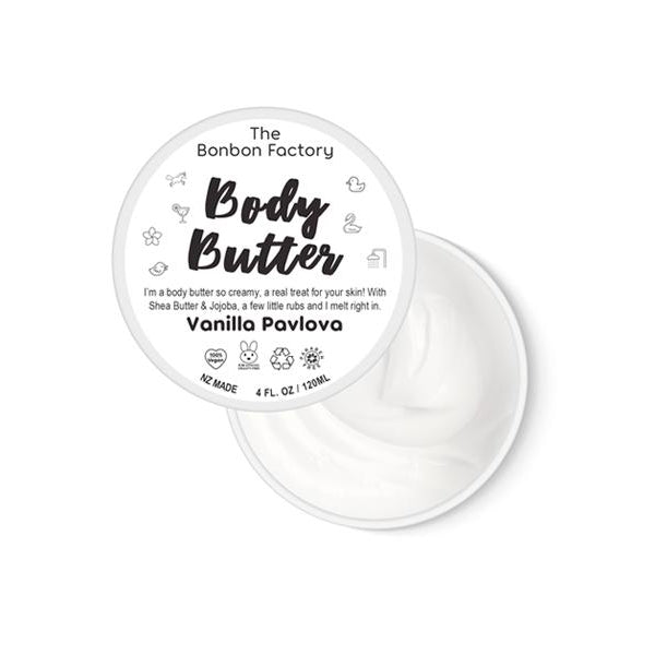 Pavlova Body Butter 120ml - Beautiful Creatures Makeup & Beauty
