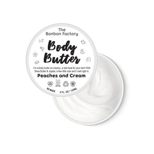 Peaches and Cream Body Butter 120ml - Beautiful Creatures Makeup & Beauty
