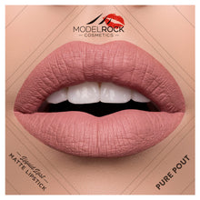 Load image into Gallery viewer, PURE POUT Liquid to Matte Longwear Lipstick 3.5ml - Beautiful Creatures Makeup & Beauty